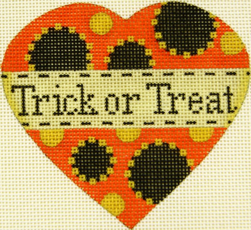 MS1942D Pumpkin Heart Trick or Treat