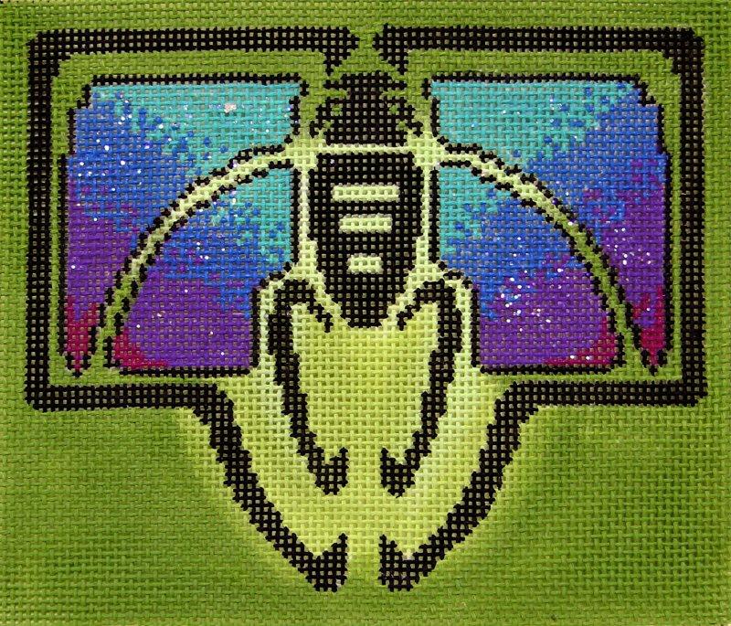 DH3666 Bee Art Deco