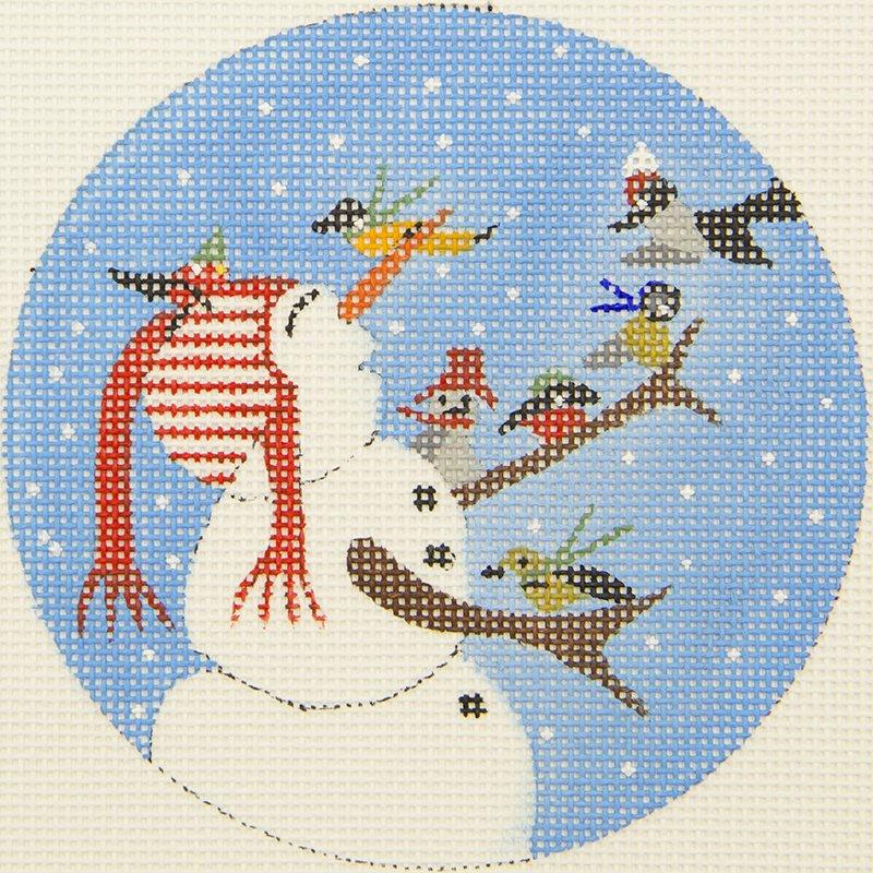 CB9 Frosty with birds