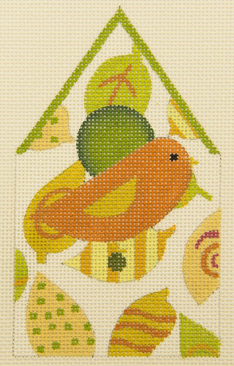 Leaf birdhouse 1688B