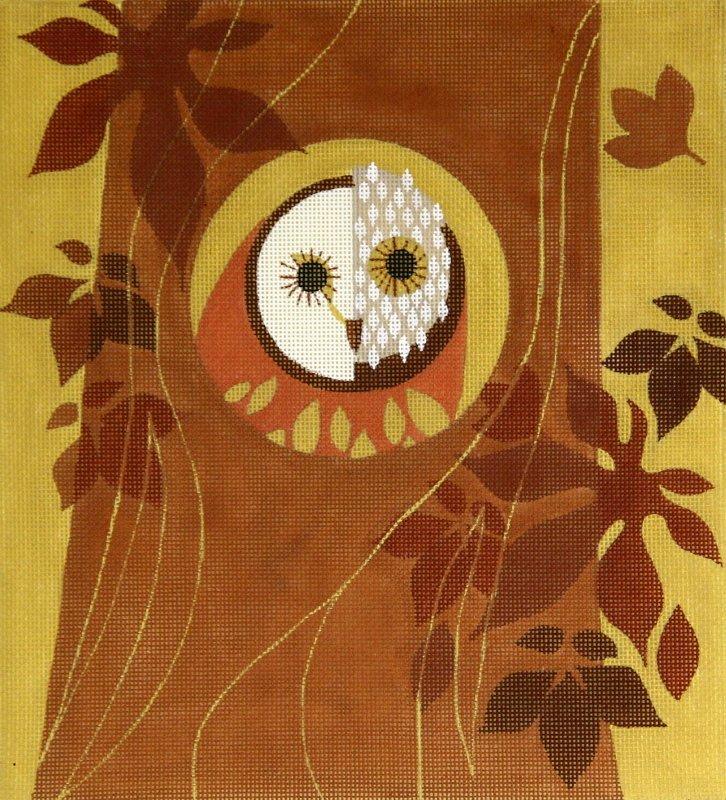 5529 Owl in Tree by Eleanor