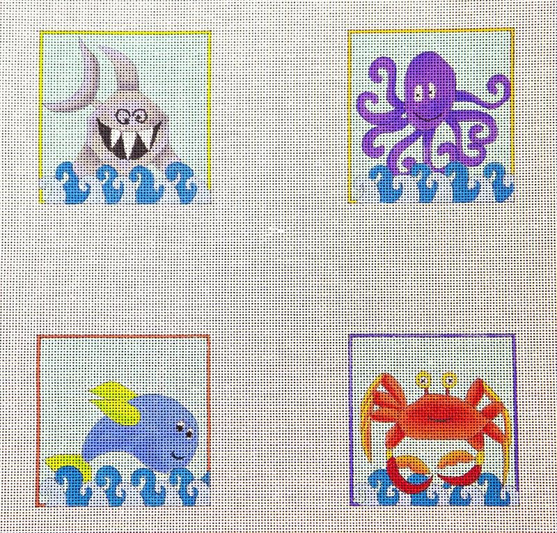 DTH1021 Coasters Creatures Sea