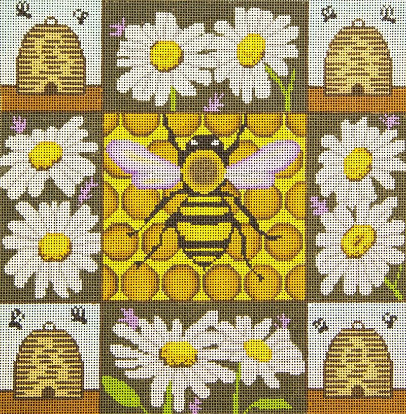 GEP235 Honey Bees & Daisies