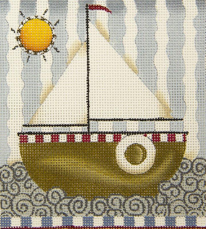 DM126 Sailboat Round