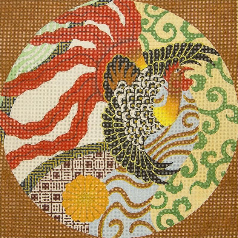 6287 Flaming Fowl Imari