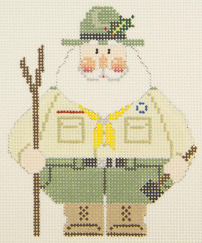CD824 Scout Santa