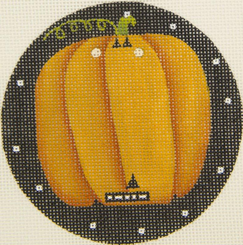 MS1689A Pumpkin Round