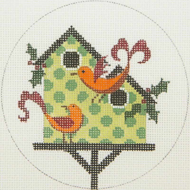 JPX111 Green Bird House