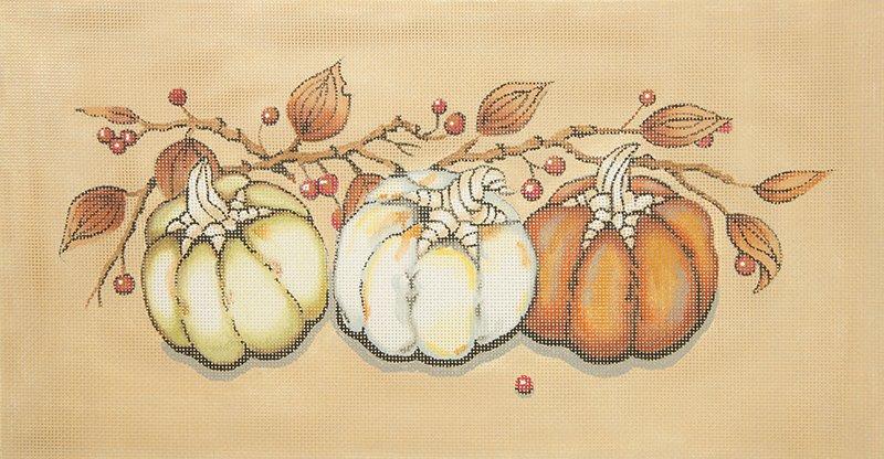 A101 Three Small Pumpkins