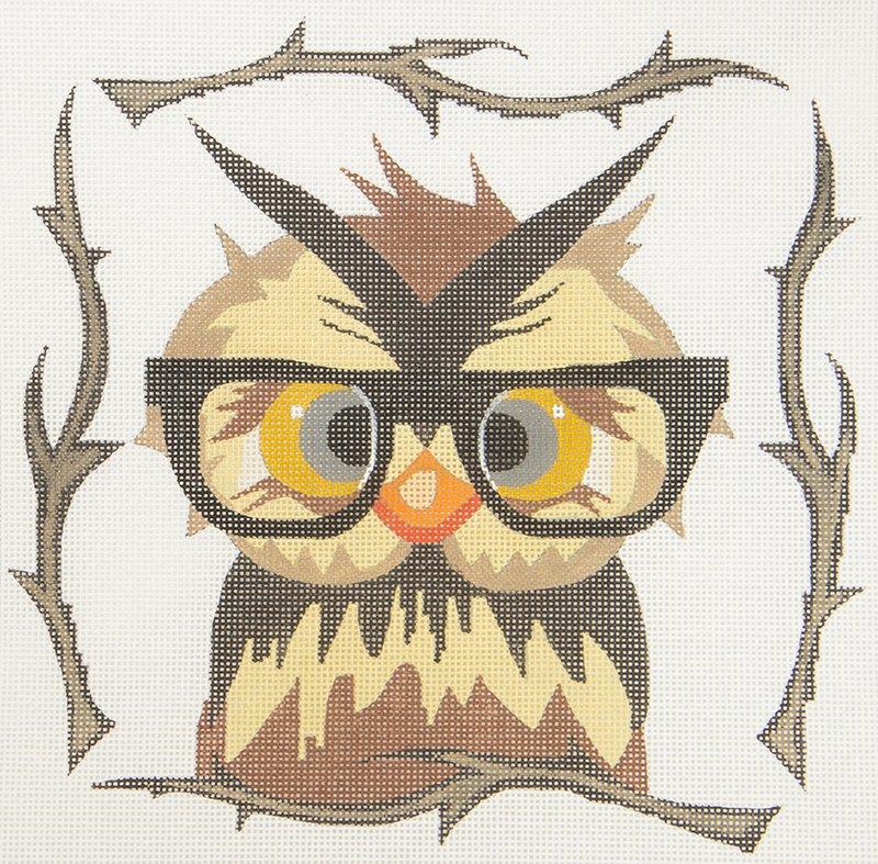 ZIA19 Owl in Glasses