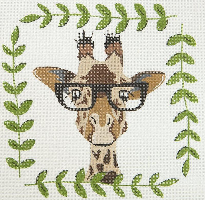 ZIA54 Giraffe in Glasses
