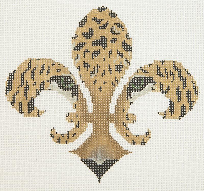 JP Fleur de Lis Leopard