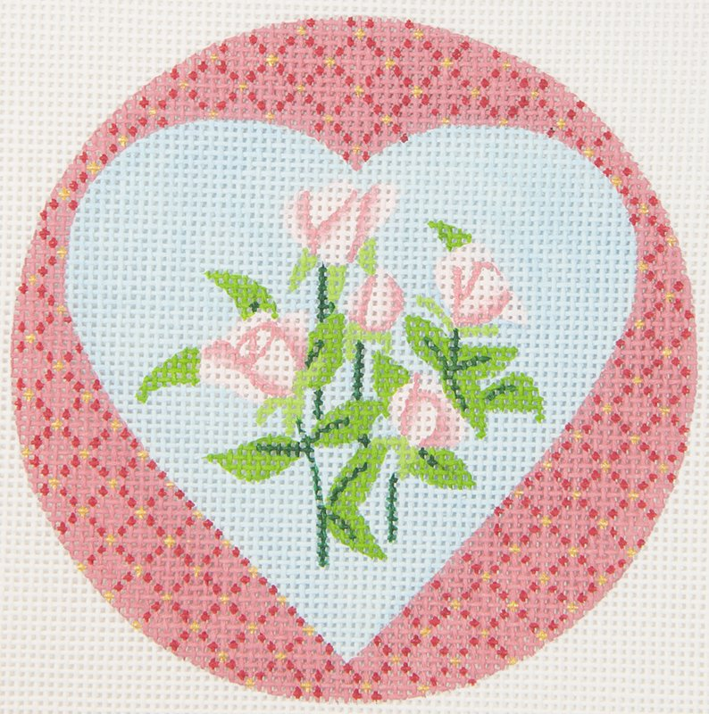 JPDN137A Heart with Roses