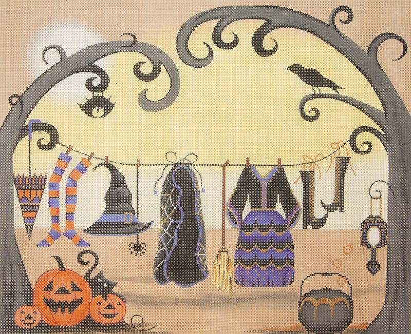 AP2902 Witch's Clothesline