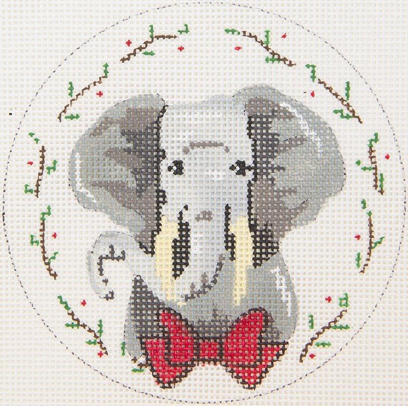 ZIA63 Elephant in Bowtie