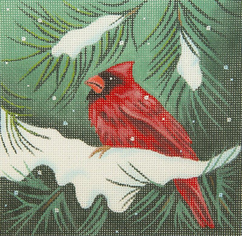 HCSP001 Cardinal in Snow