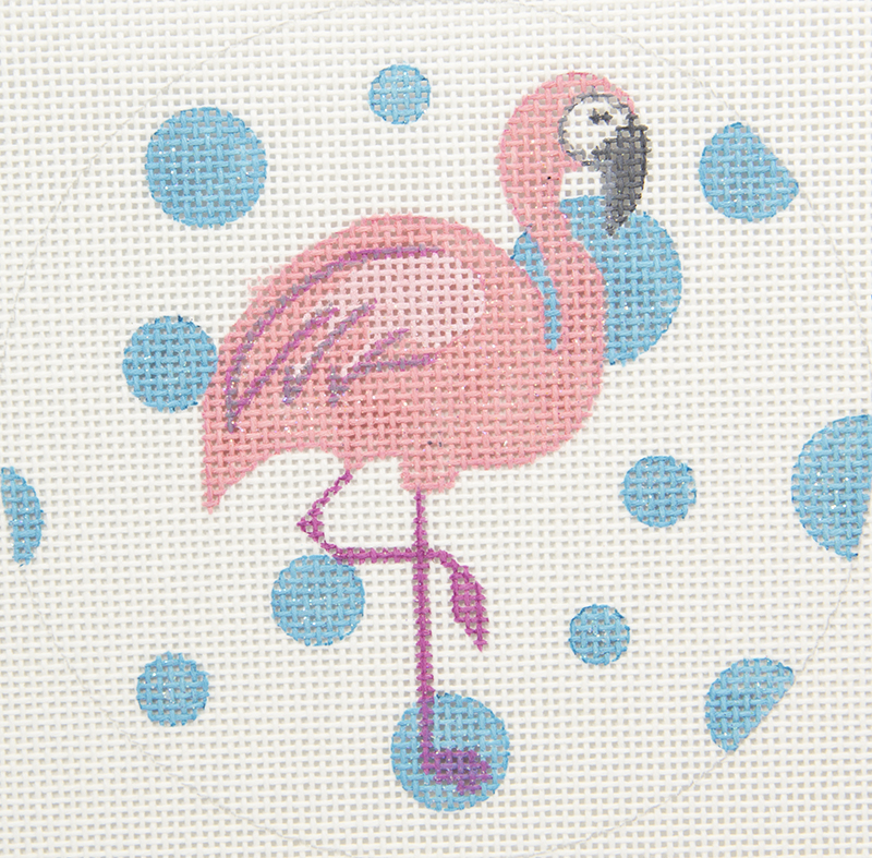APBR09 Flamingo with Dots