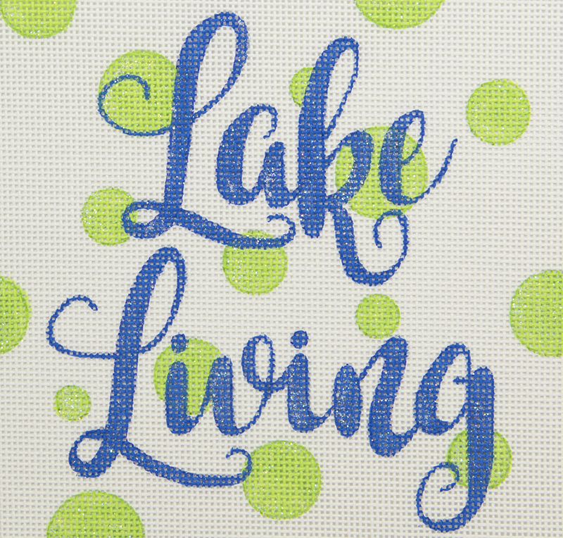 APBU12 Lake Living with Green Dots