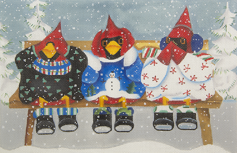 BT001 Cardinals Dressed for Winter