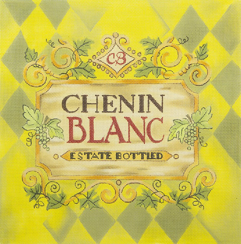 DKSP16 Chenin Blanc Wine Label
