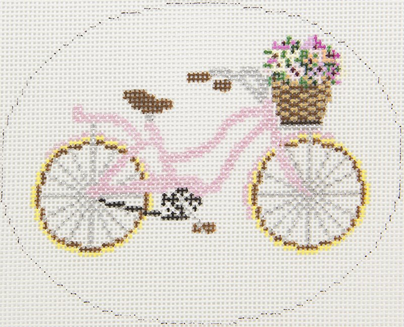XO299 Pink Bike with Flowers