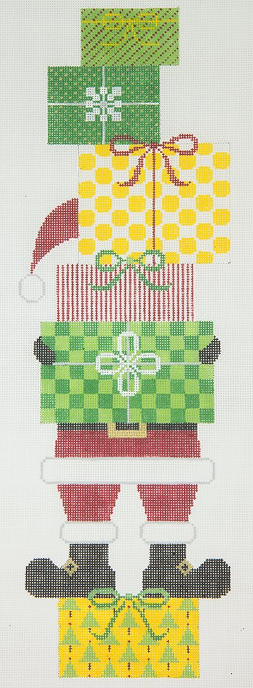 JPX221 Santa with Tower of Packages
