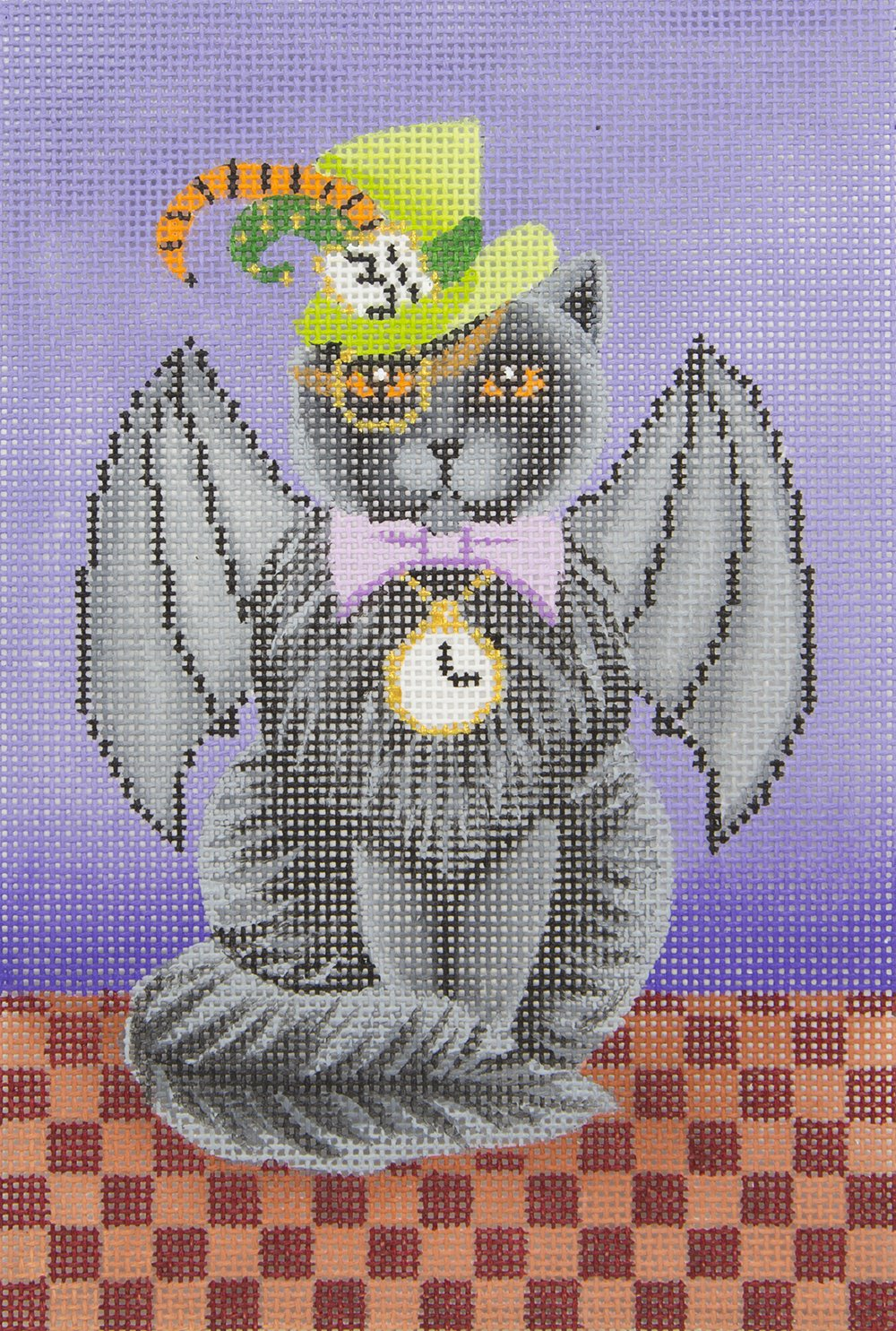 B431 Steampunk Cat with Stitch Guide Brenda Stofft