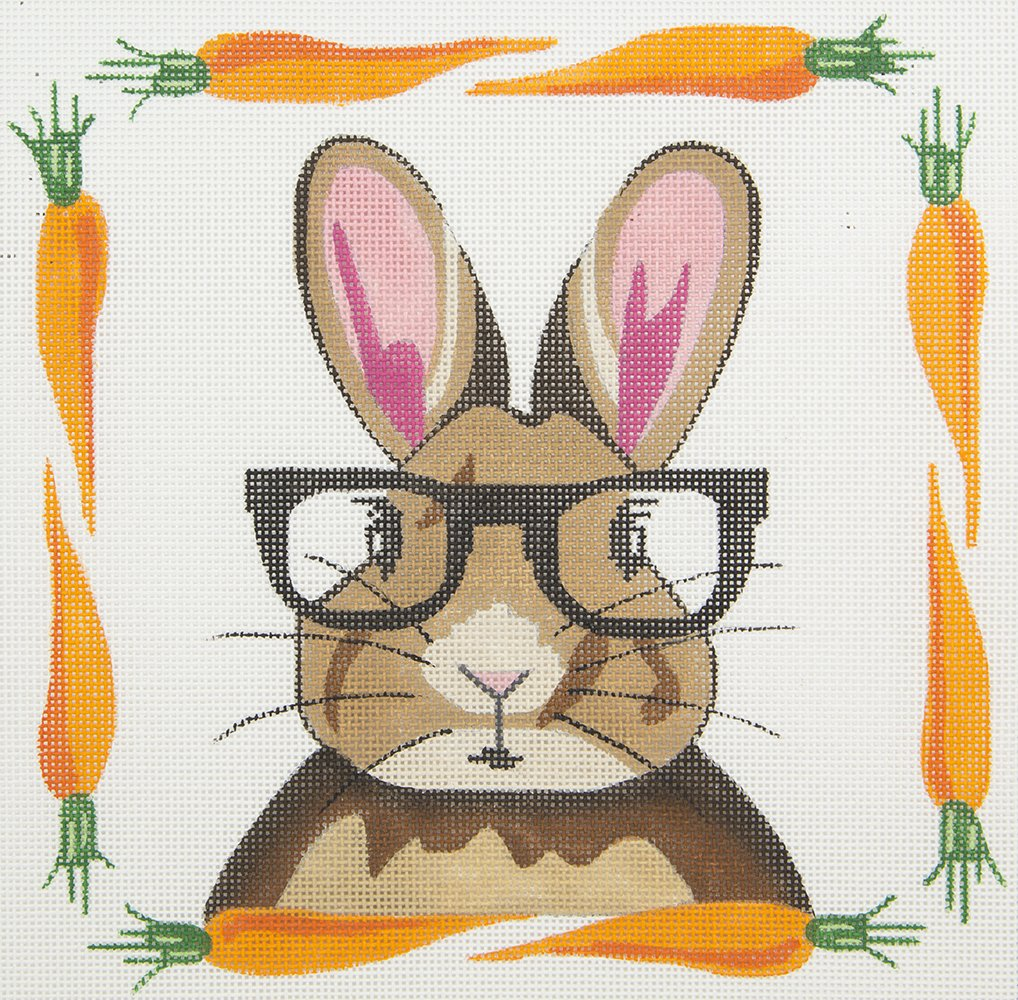 ZIA16 Bunny Wearing Glasses Danji Designs