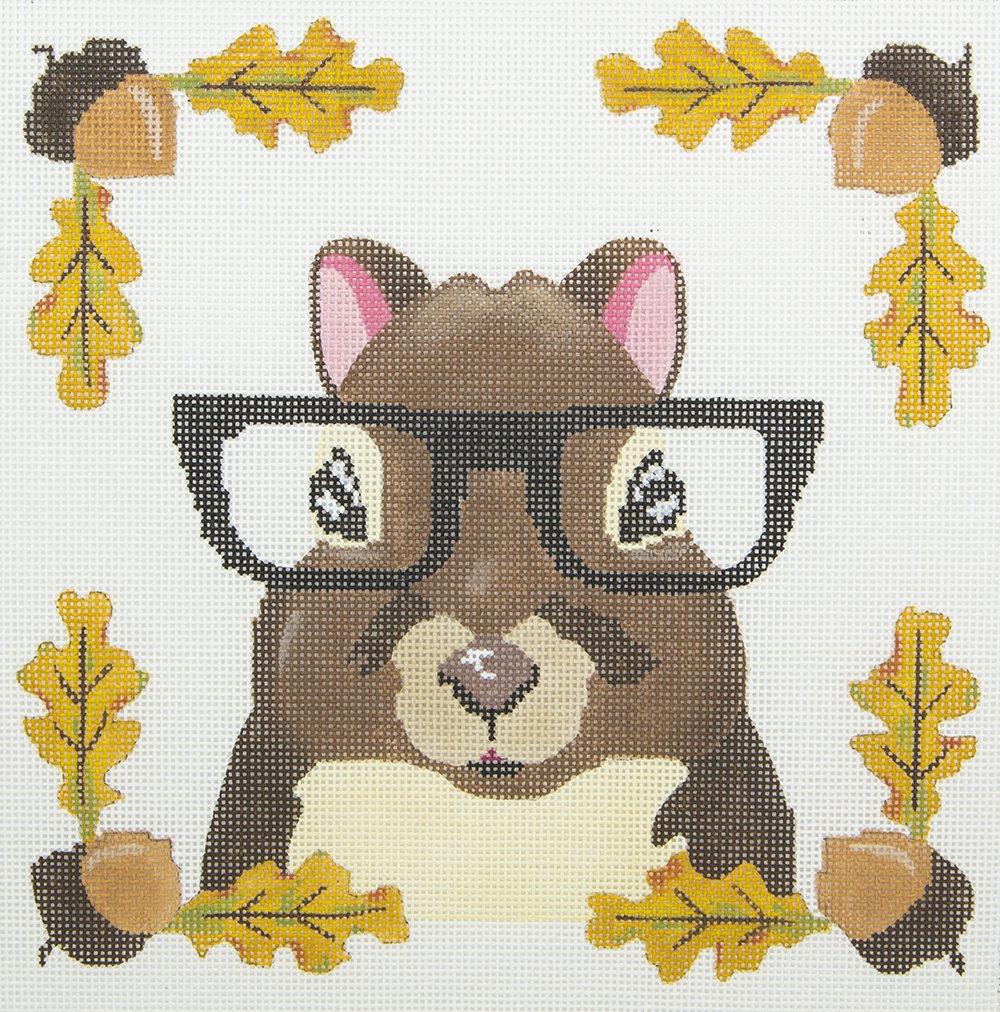 ZIA99 Squirrel Wearing Glasses Danji Designs