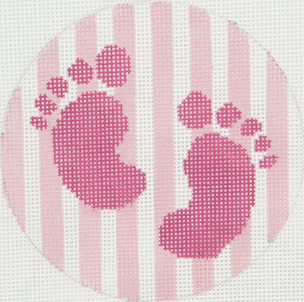 KKO114 Baby Girl Footprints Chris Lewis