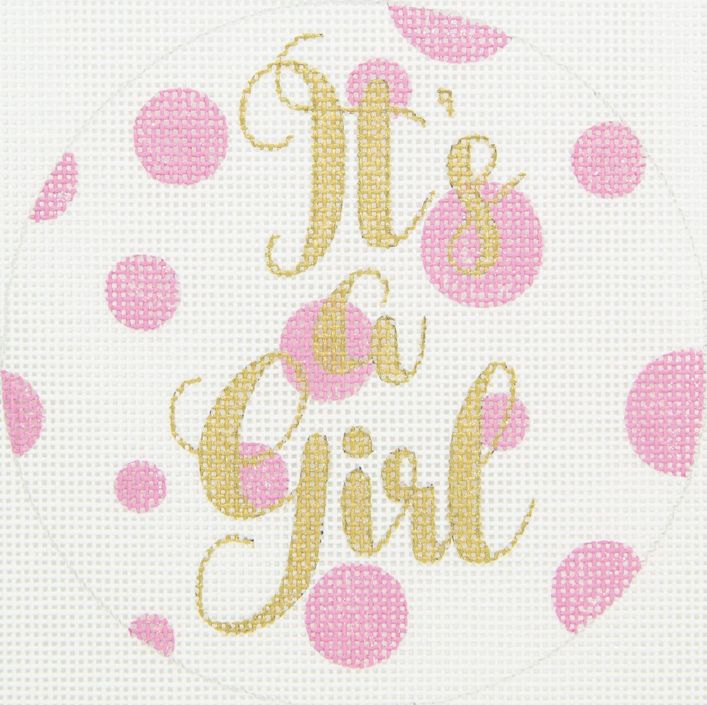 APBA02 It's a Girl! Ornament Walker's Wholesale