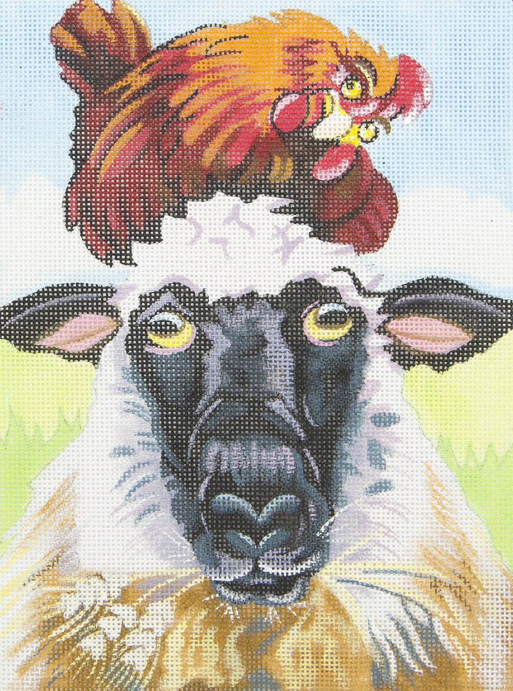 CT03 Chicken on Sheep's Head Strictly Christmas