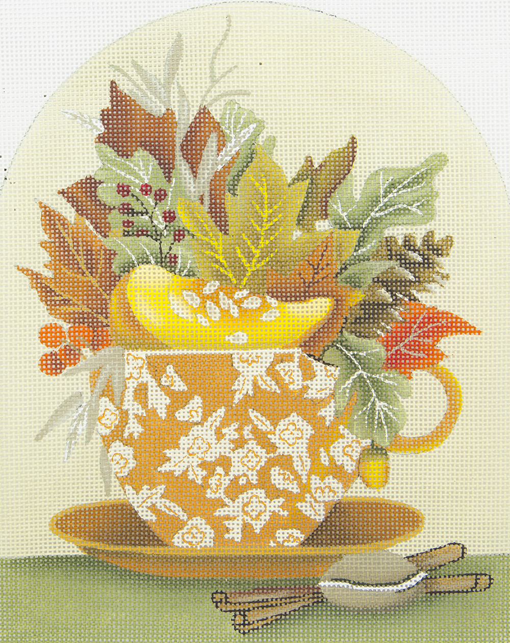 MLT410 Autumn Leaves Cup Melissa Shirley