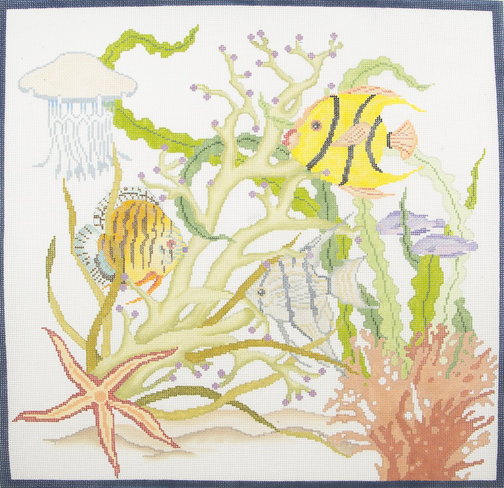 DS103 Fish and Coral JP Needlepoint