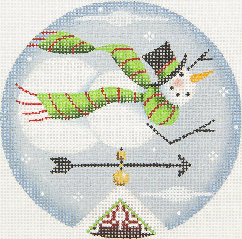 1046B Snowman Ornament Rebecca Wood