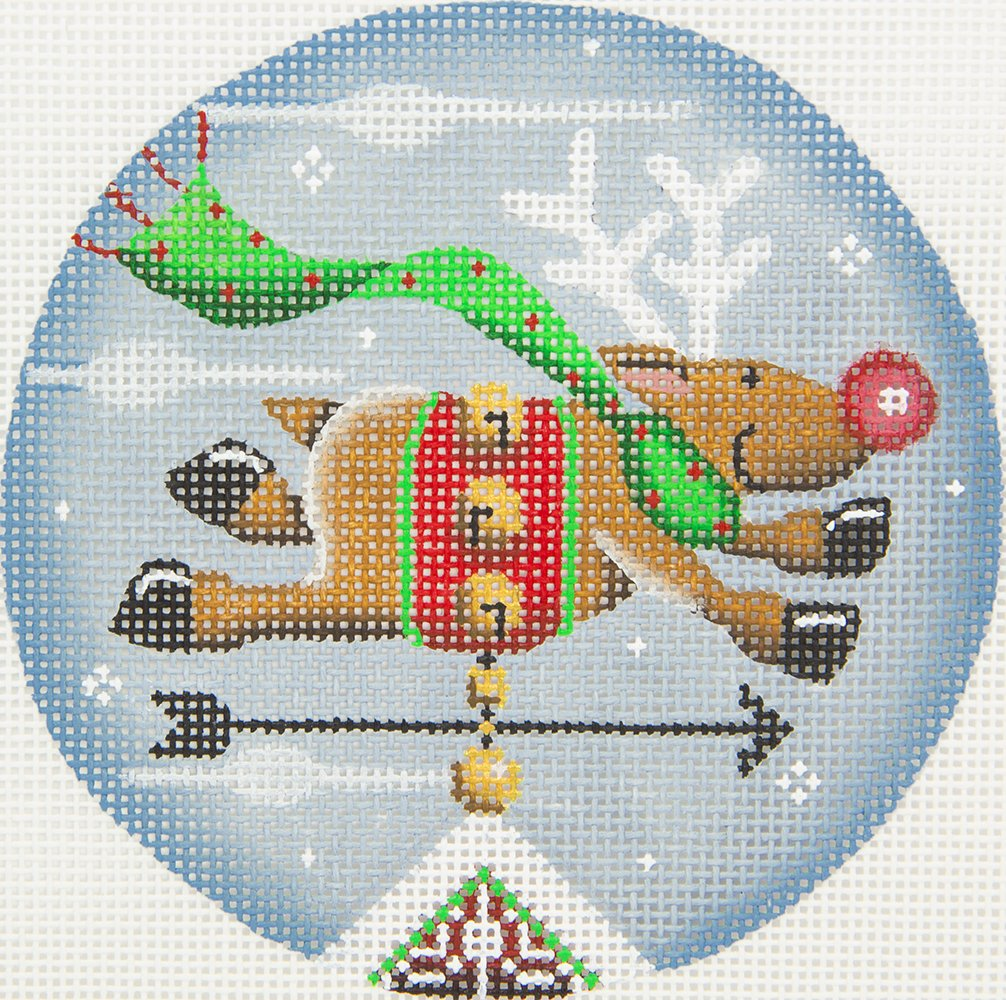 1046C Reindeer Vane Rebecca Wood