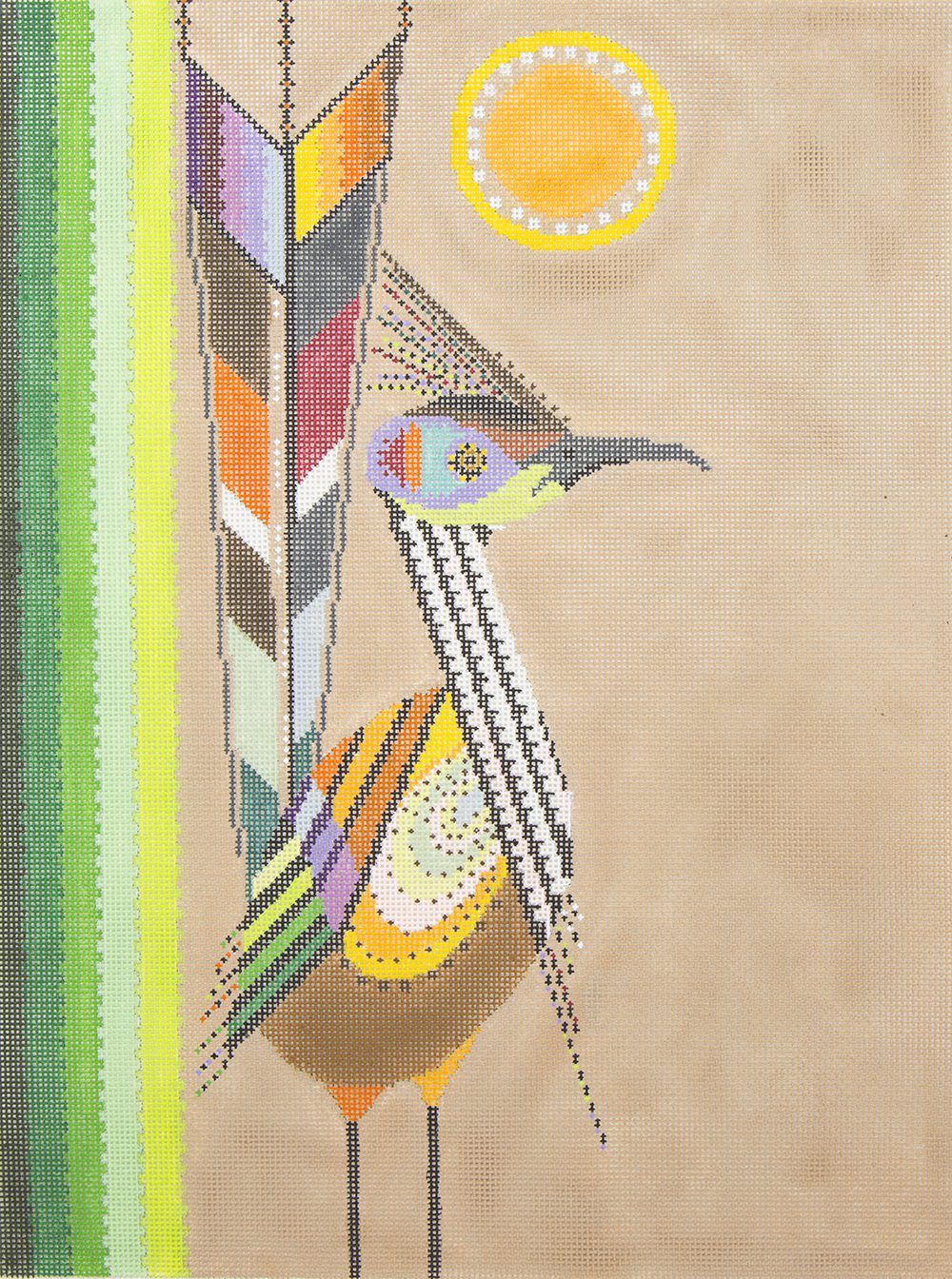 DB1 Abstract Roadrunner Tapestry Fair