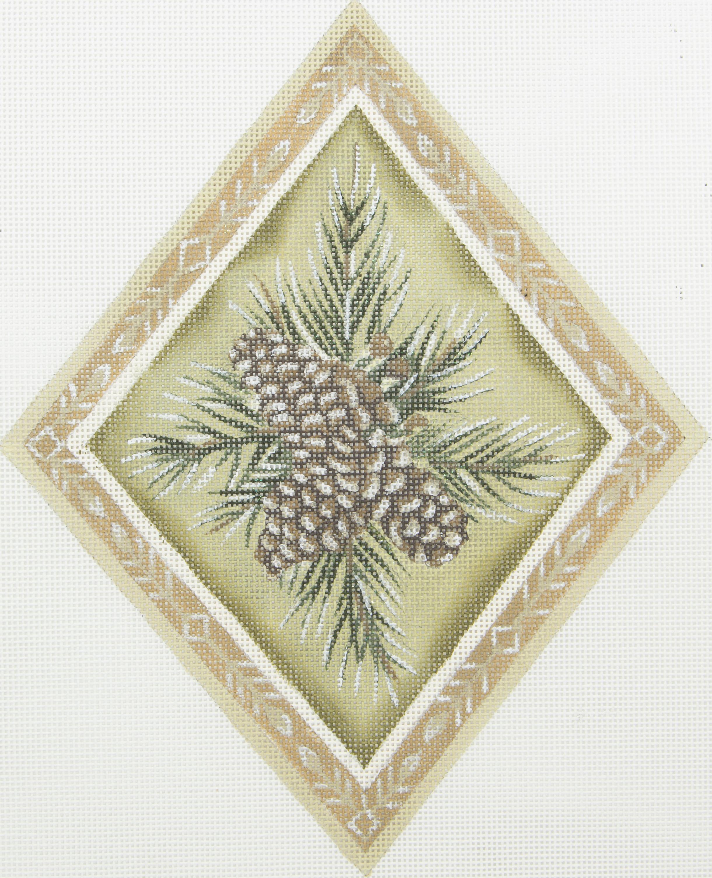 ASP371 Evergreen Pine Diamond Susan Roberts