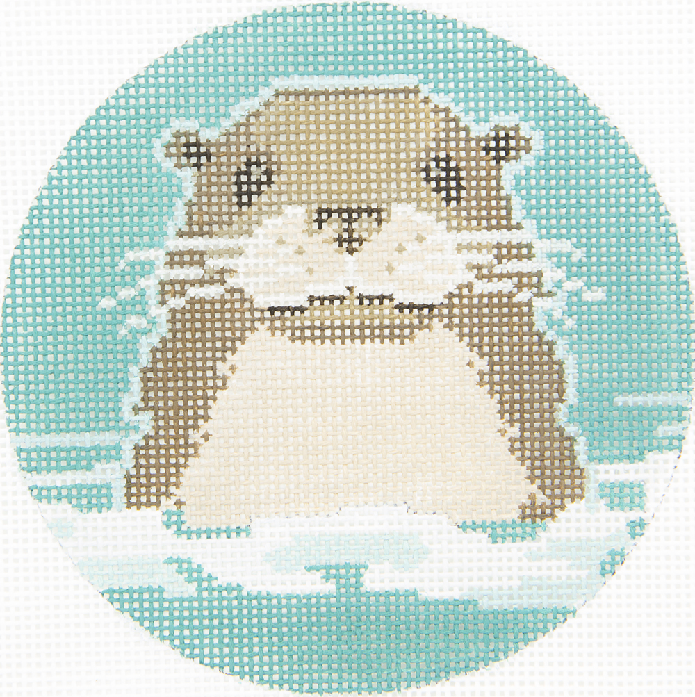 CL310 Otter 3 Kittens Needle Arts