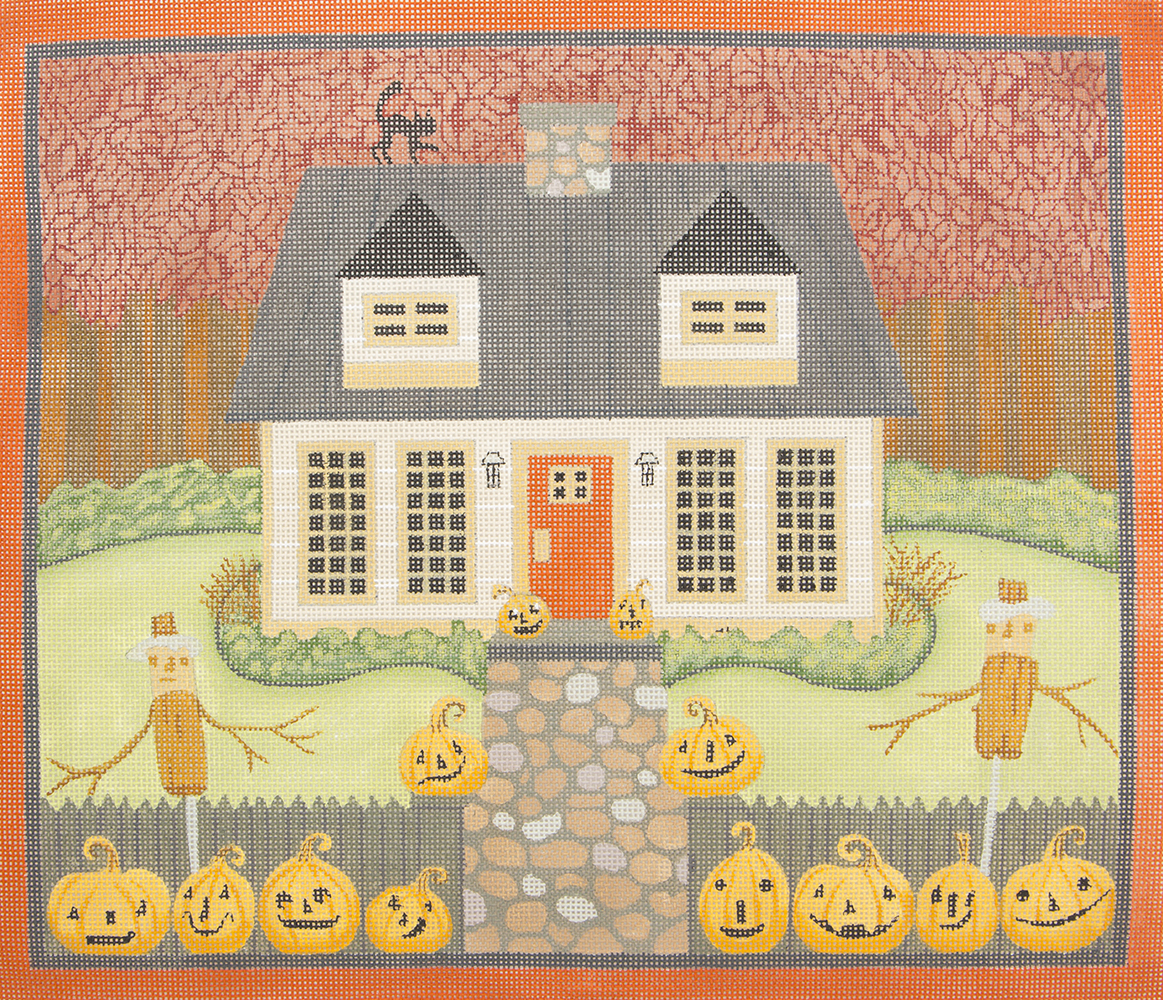 TK10 Hallowween House in Woods Love You More