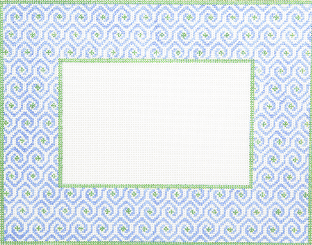 FR014 Frame Blue Muffy Swirl Griffin Designs