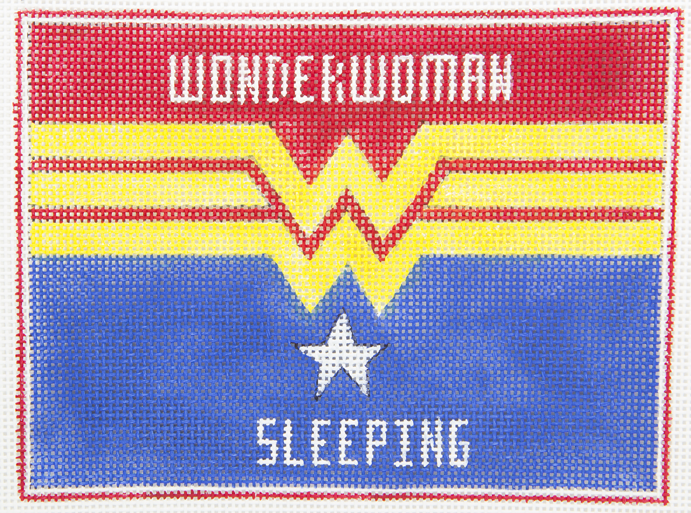 AP3746 Wonder Woman Sleeping Alice Peterson