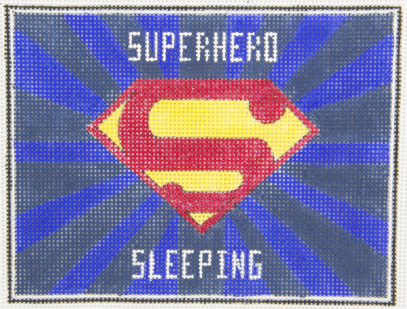 AP3739 Superman Sleeping Alice Peterson