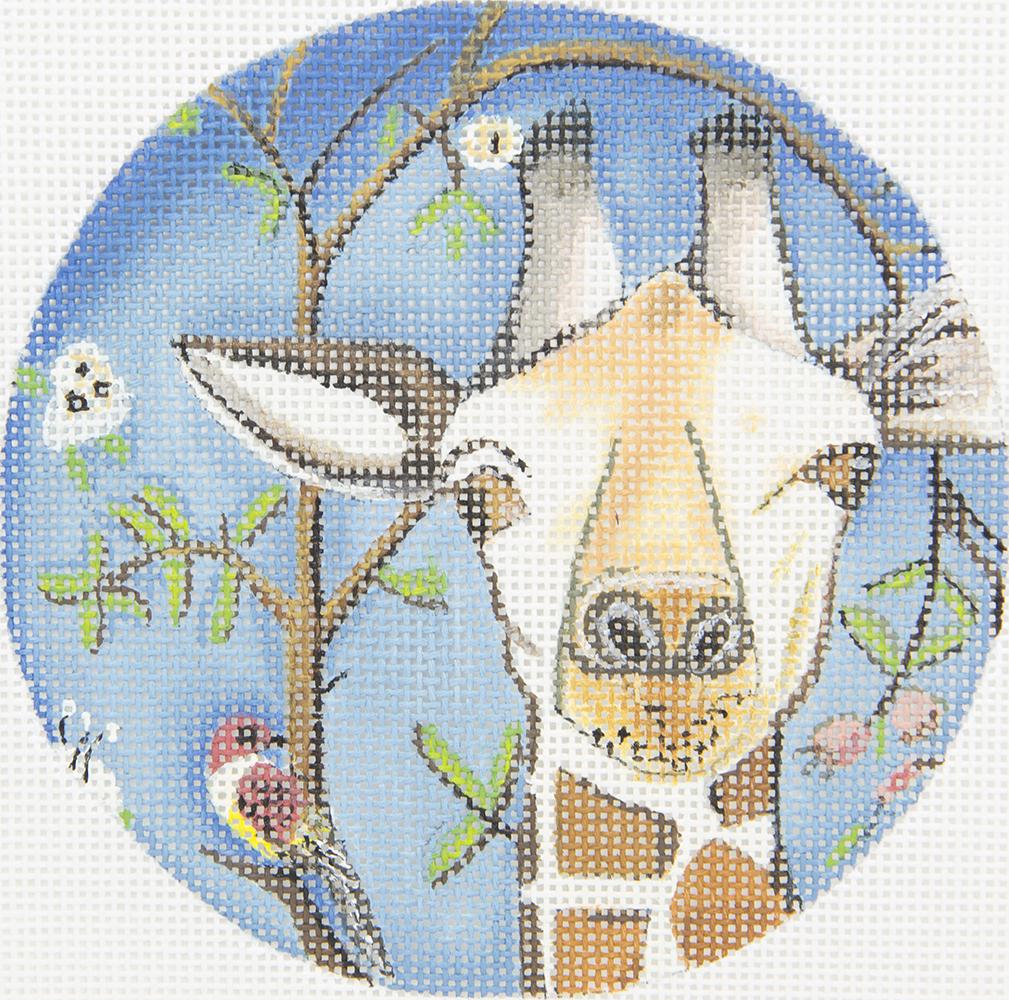 CN1512 Curious Giraffe Round PLD Designs