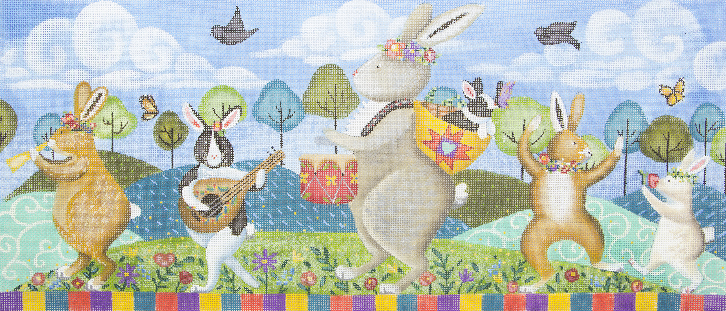 SRADP216 Rabbit Band Parade Susan Roberts