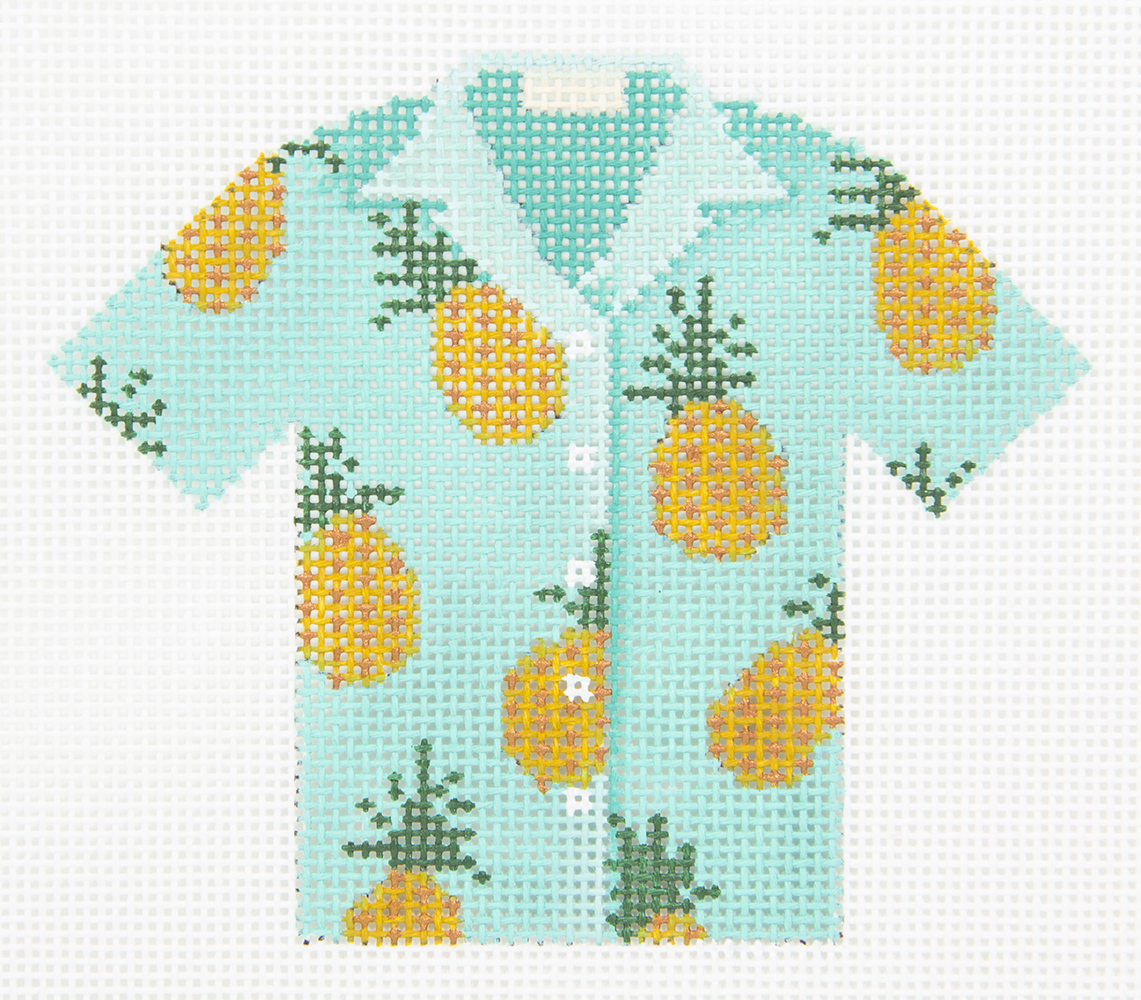L652 Pineapple Hawaiian Shirt