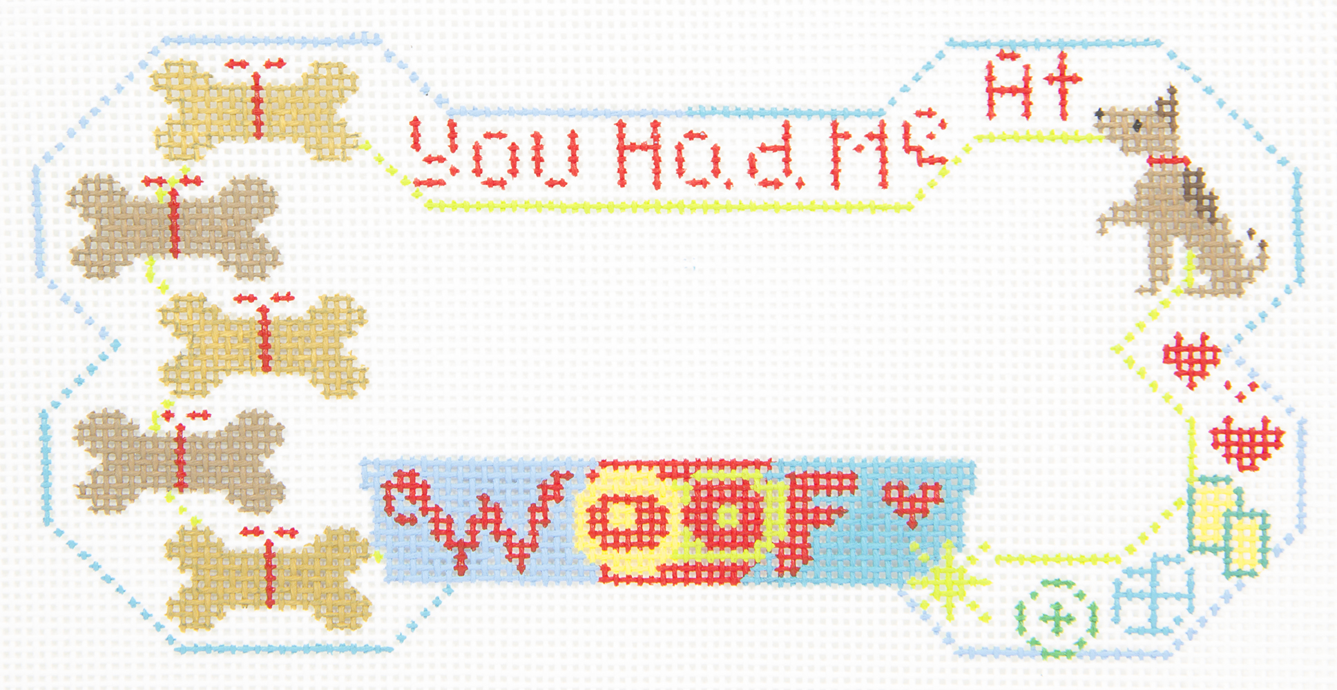 BP36 You Had Me at WOOF Dog Bone Danji Designs