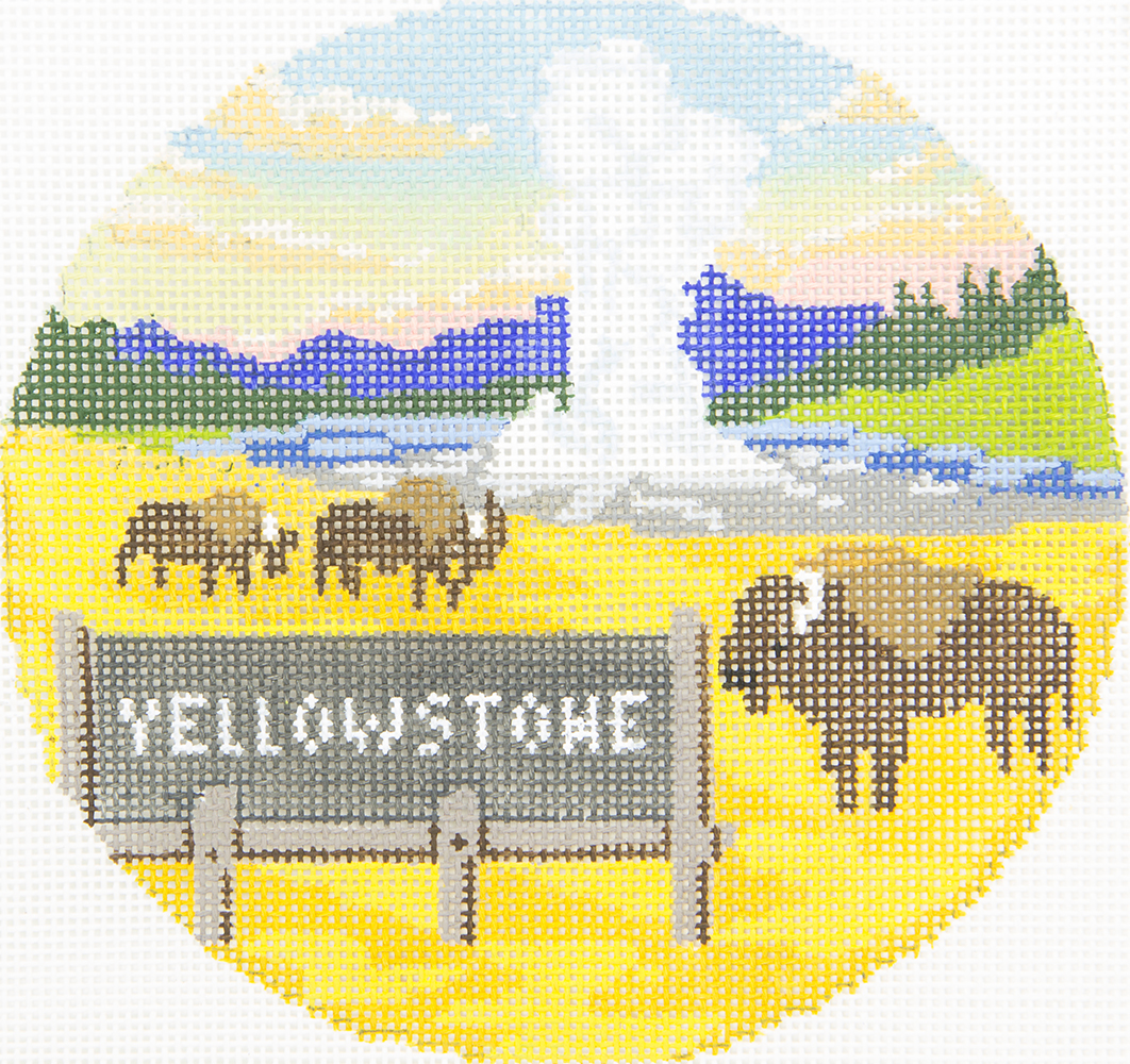 BB6141 Yellowstone Park Burnett & Bradley