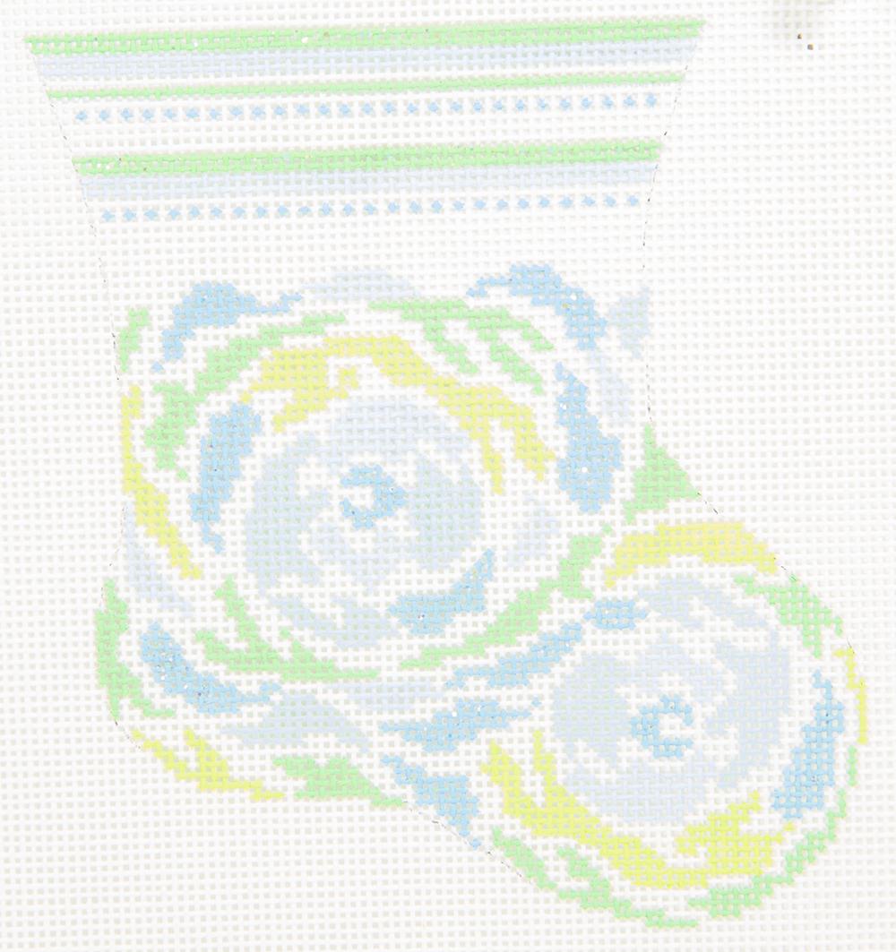 DD745B  Baby Floral Stocking Danae Designs