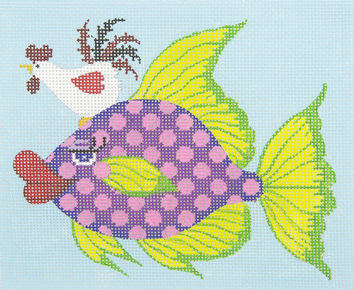 JPS30 Chicken of the Sea JP Needlepoint